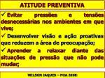 atitude preventiva