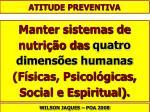 atitude preventiva54