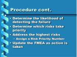procedure cont10