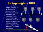 la topologia a bus