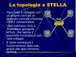 la topologia a stella