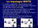 le topologie miste11
