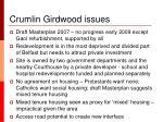 crumlin girdwood issues