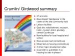 crumlin girdwood summary