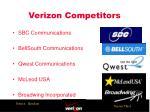 verizon competitors