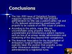 conclusions21