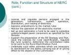 role function and structure of nerc cont14