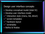 design user interface concepts