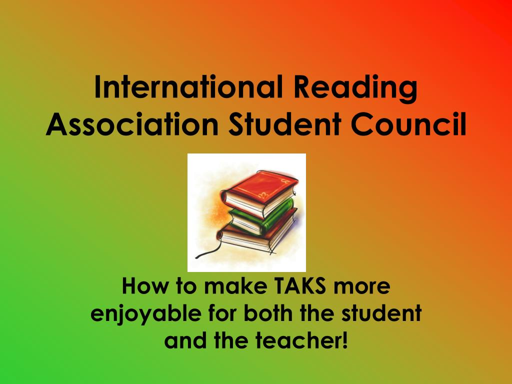 international reading association student council l.