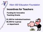 klein isd education foundation5