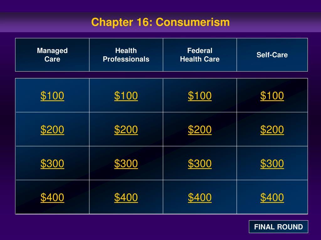 chapter 16 consumerism l.
