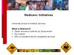 medicare initiatives