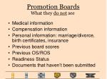 promotion boards19
