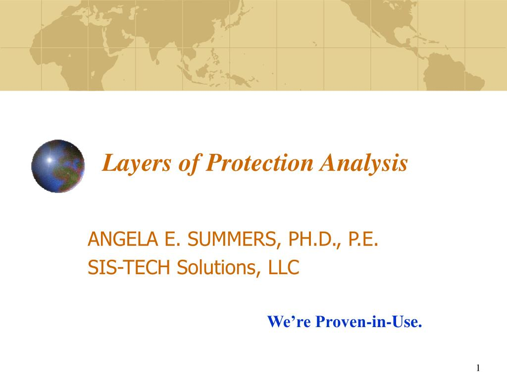 layers of protection analysis l.