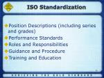 iso standardization