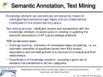 semantic annotation text mining
