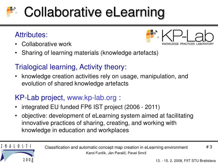 Collaborative eLearning