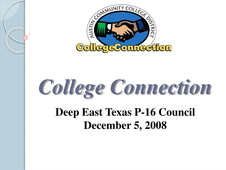 college connection n.