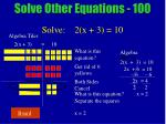 solve other equations 10024