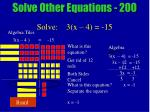 solve other equations 20026