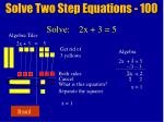 solve two step equations 10014