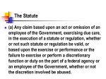 the statute