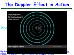 the doppler effect in action