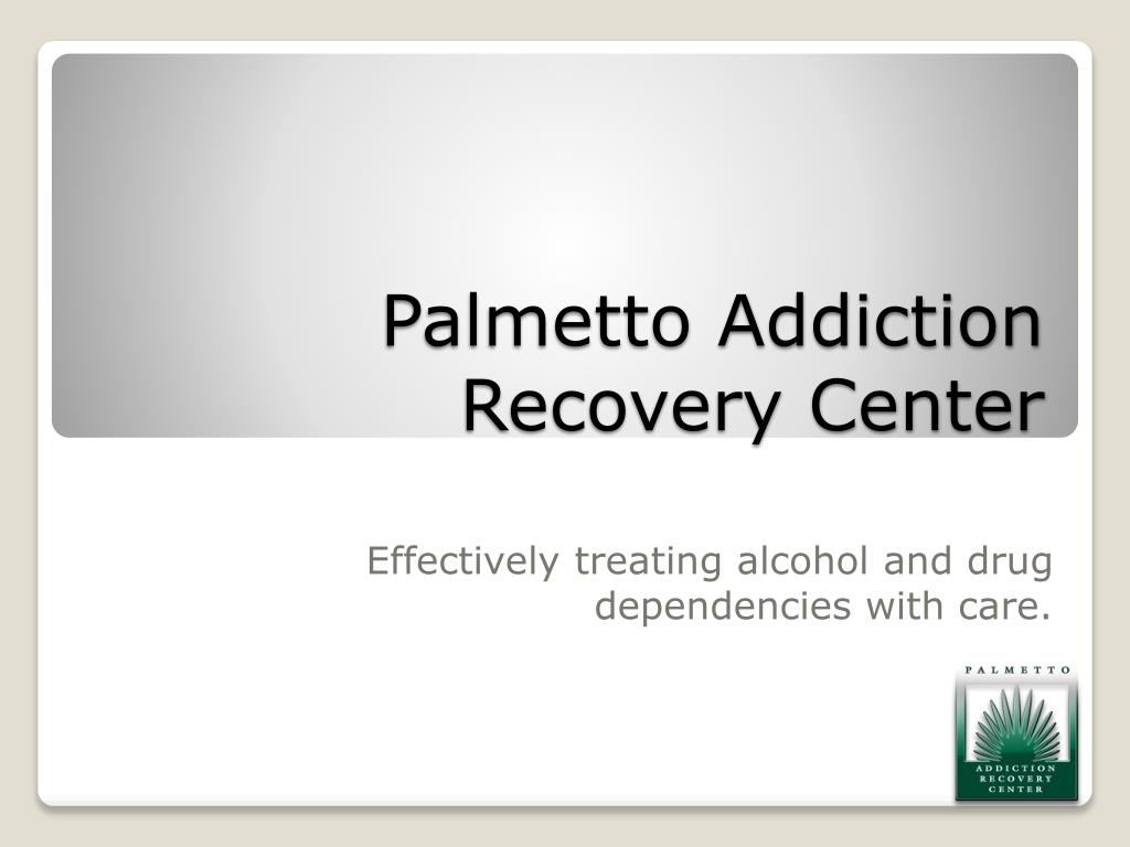 palmetto addiction recovery center l.