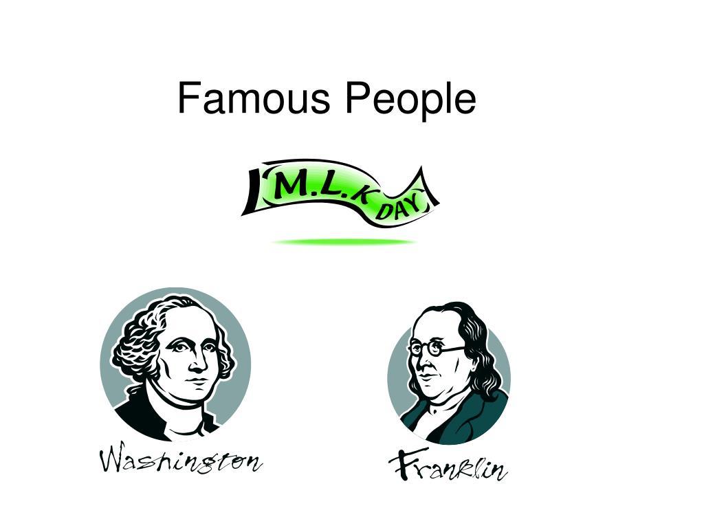 famous people l.