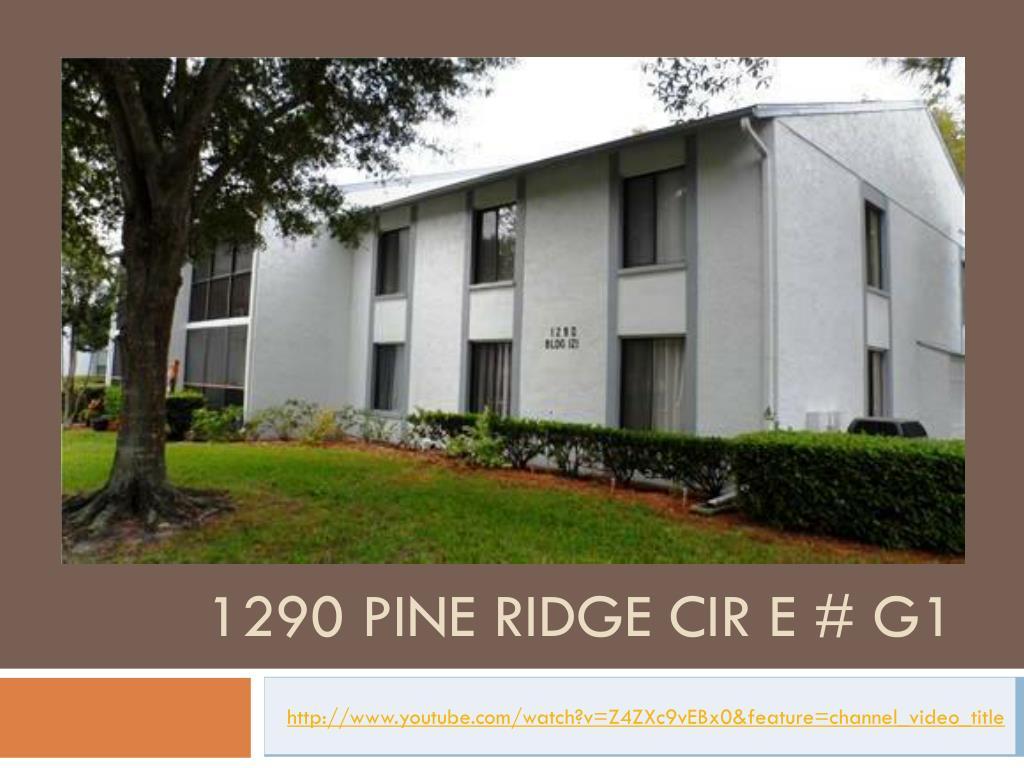 1290 pine ridge cir e g1 l.