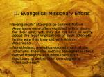 ii evangelical missionary efforts5