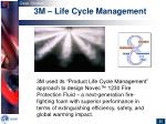3m life cycle management