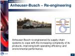 anheuser busch re engineering