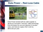 duke power reel less cable