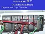 automation plc automationdirect