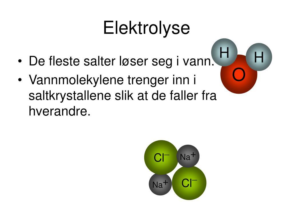 elektrolyse l.