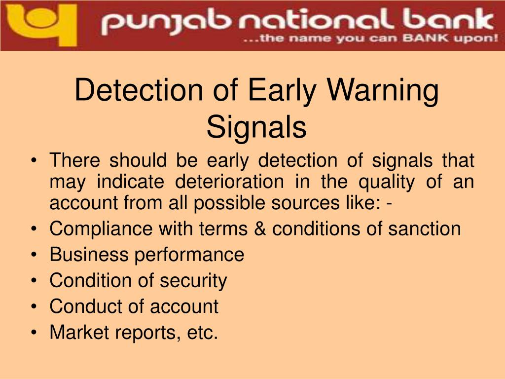 Detection of Early Warning Signals
