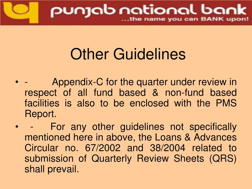 Other Guidelines