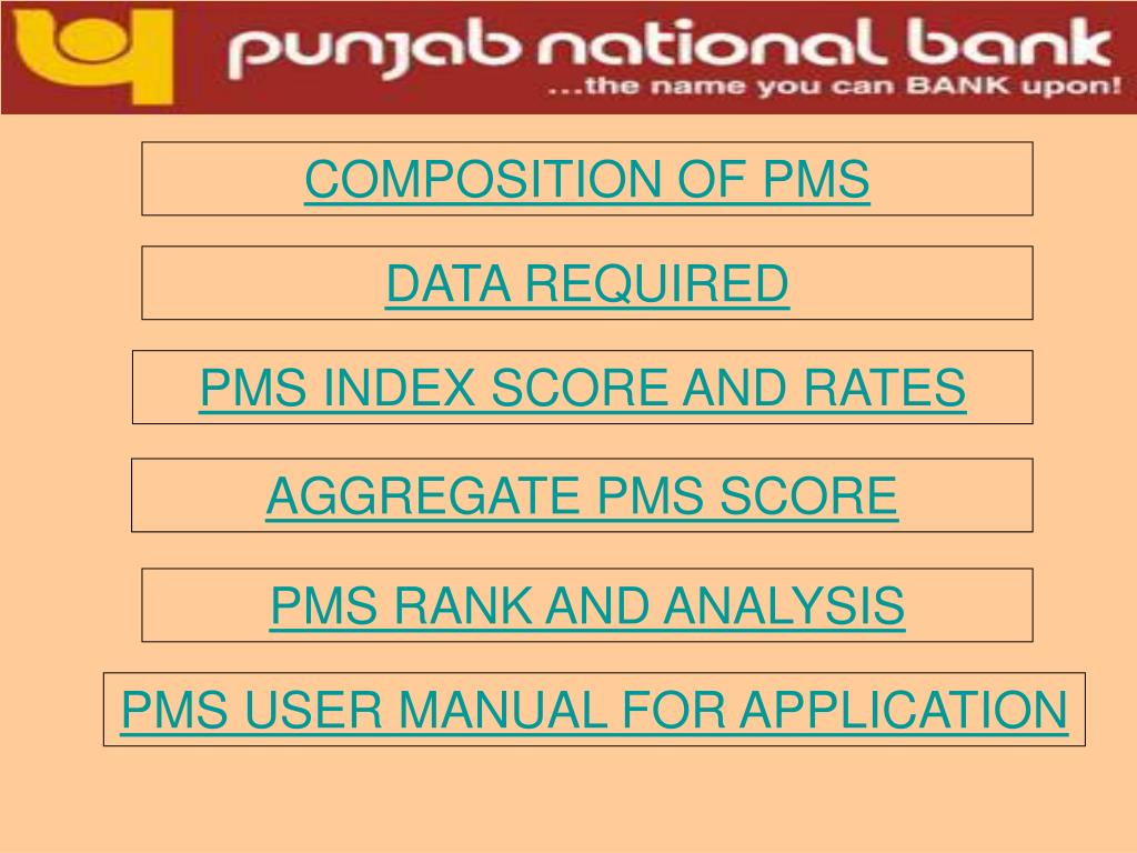 COMPOSITION OF PMS