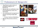 professional u s manga art