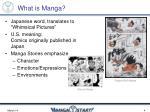 what is manga