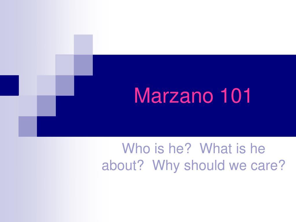 marzano 101 l.