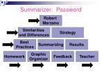 summarizer password