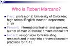 who is robert marzano