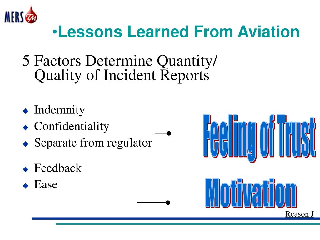 Lessons Learned From Aviation