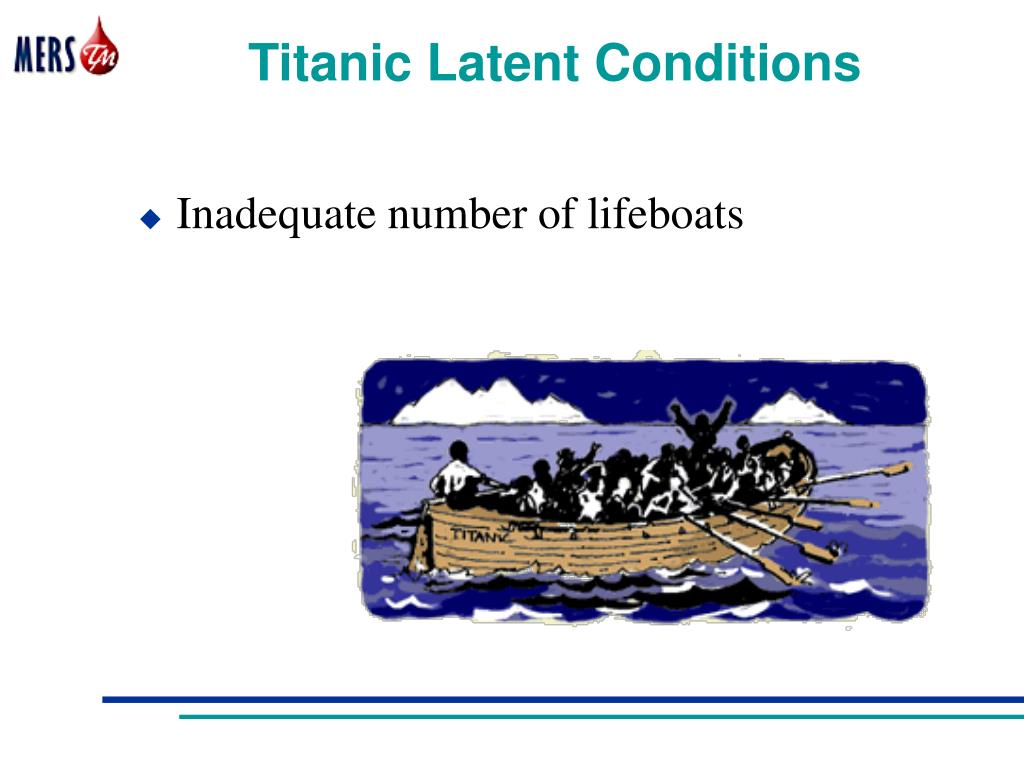 Titanic Latent Conditions