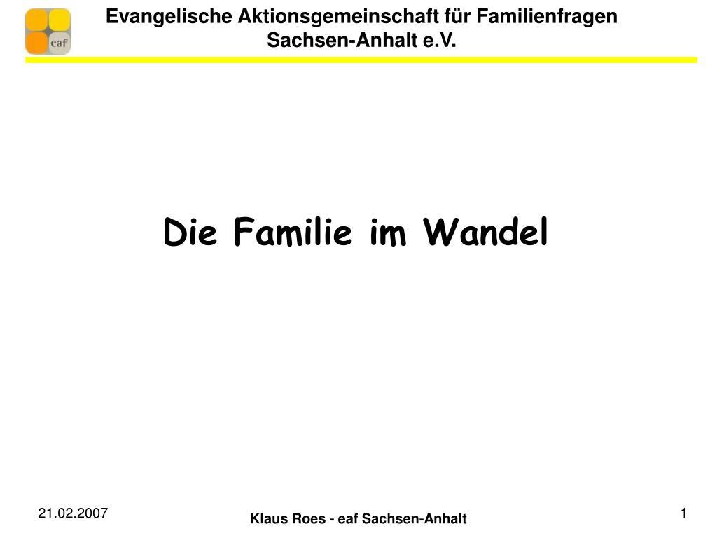evangelische aktionsgemeinschaft f r familienfragen sachsen anhalt e v l.
