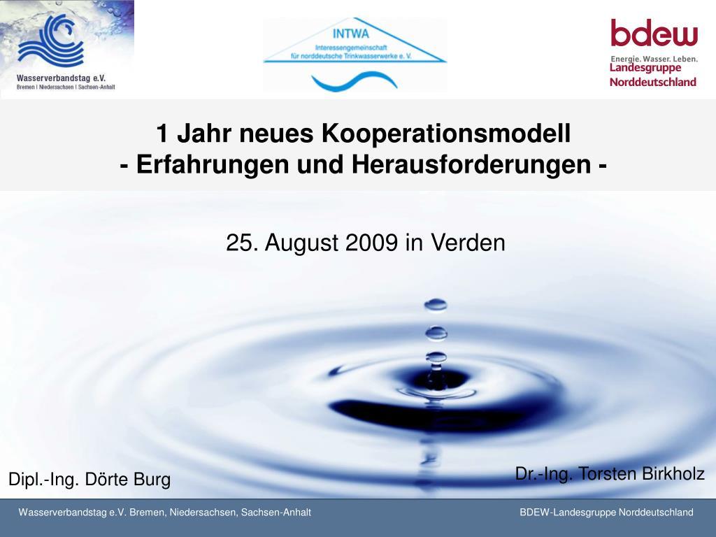 1 jahr neues kooperationsmodell erfahrungen und herausforderungen l.