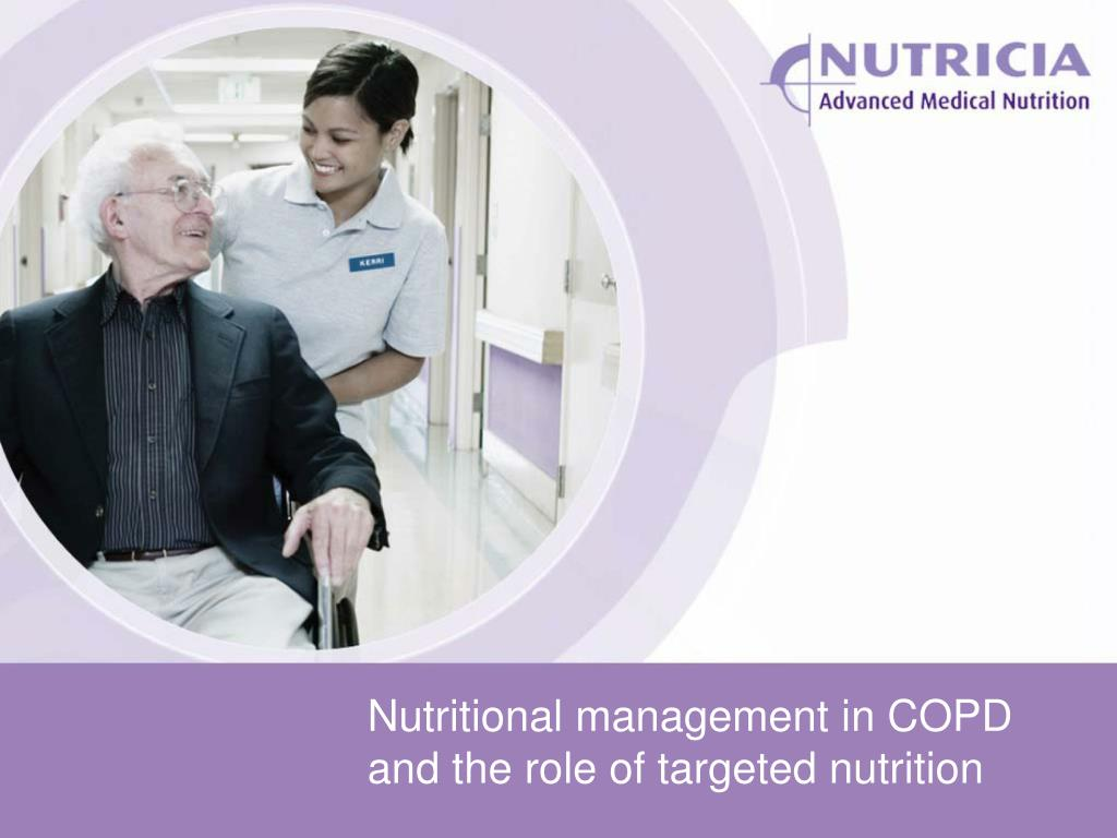 nutritional management in copd and the role of targeted nutrition l.