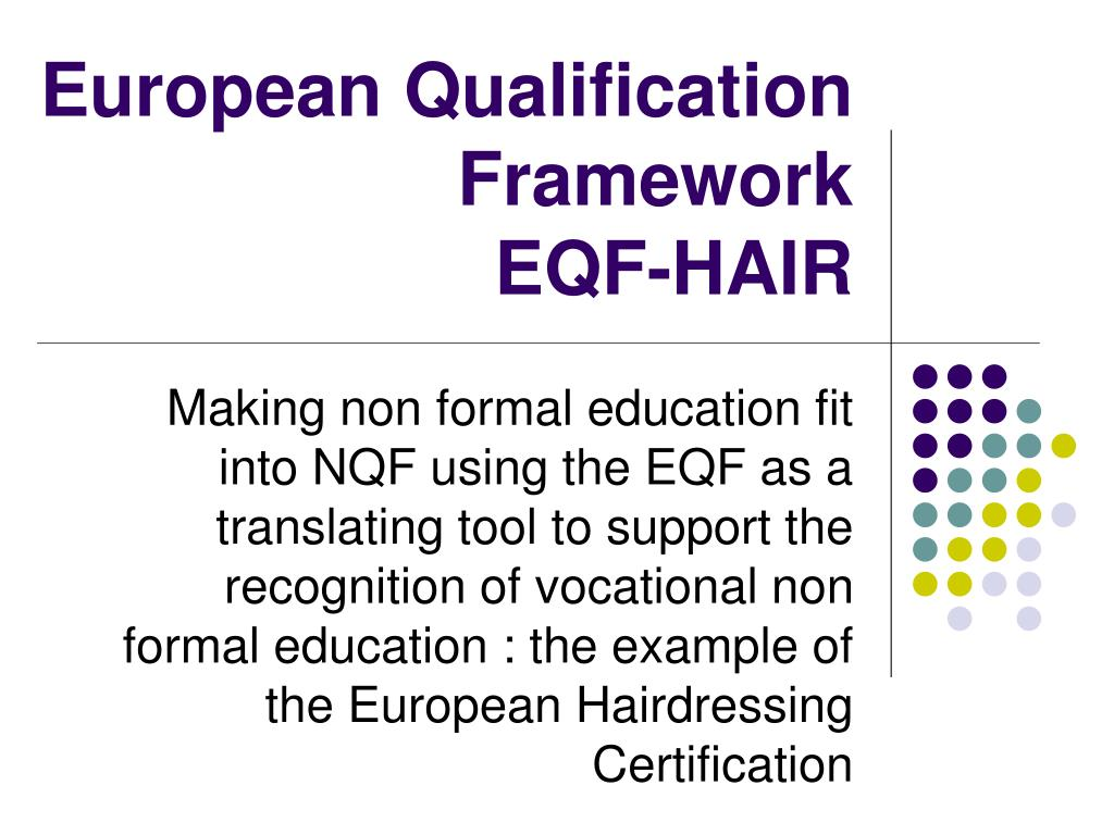 european qualification framework eqf hair l.